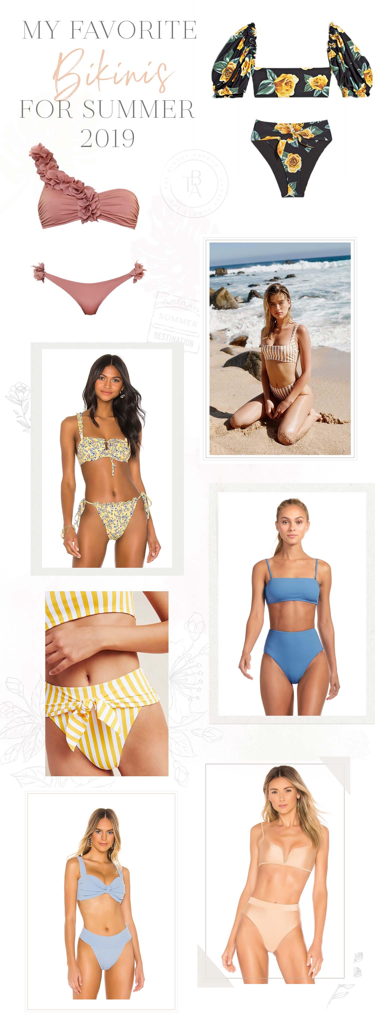 favorite bikinis summer 2019