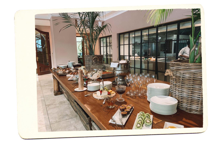 lanzerac wine estate breakfast