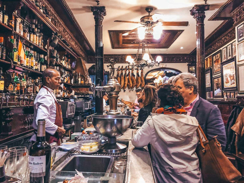Tapas Bar Spain Madrid