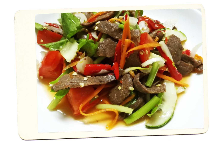 Yam Nua Thai beef salad