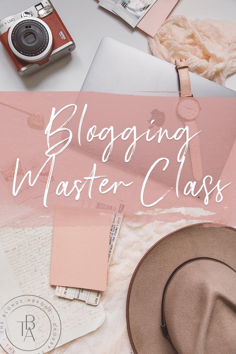 Blogging Masterclass Pin small