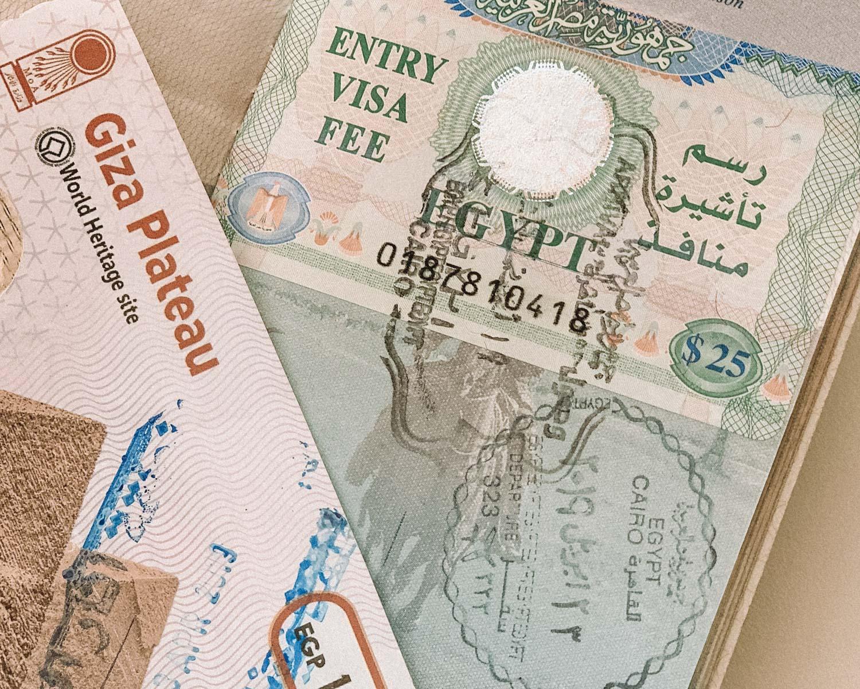 Egypt Travel visa passport