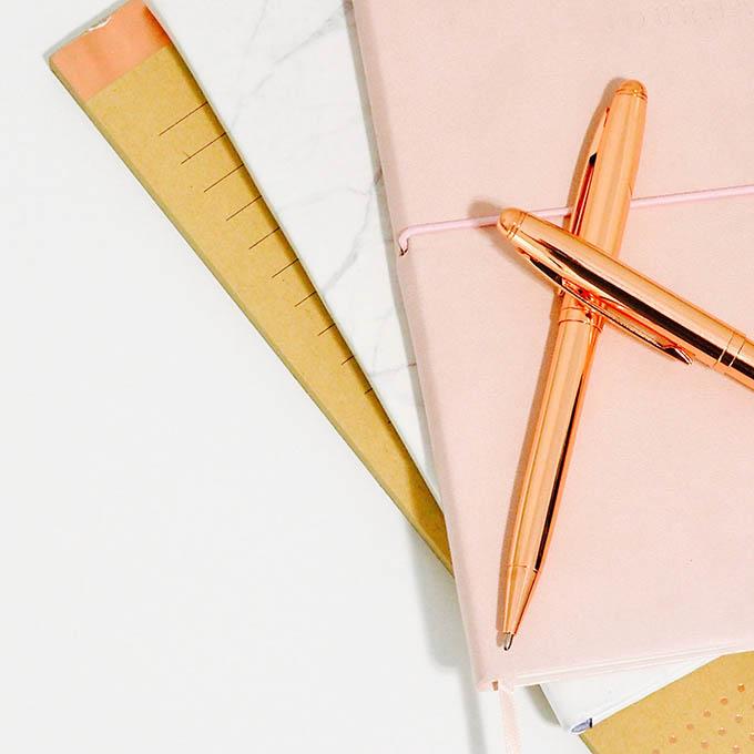 blogging notebook