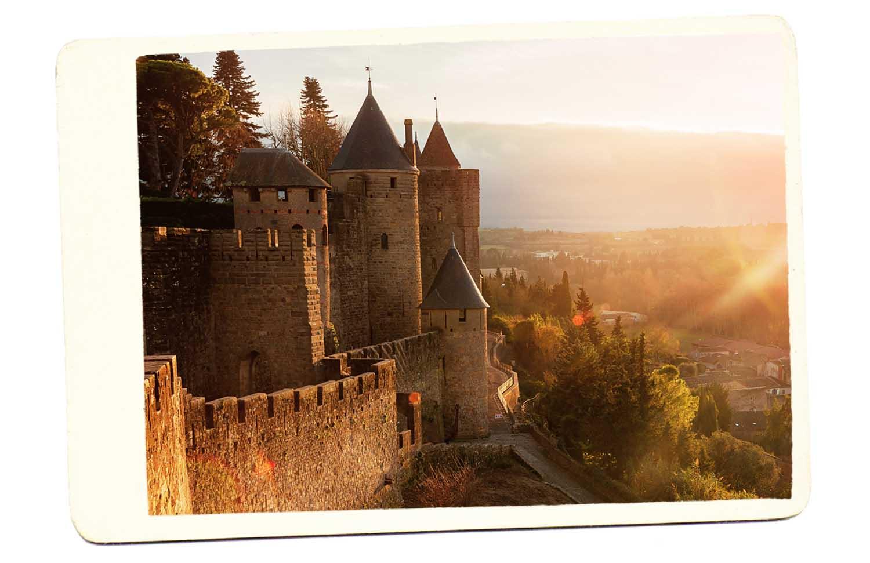 carcassonne france castle