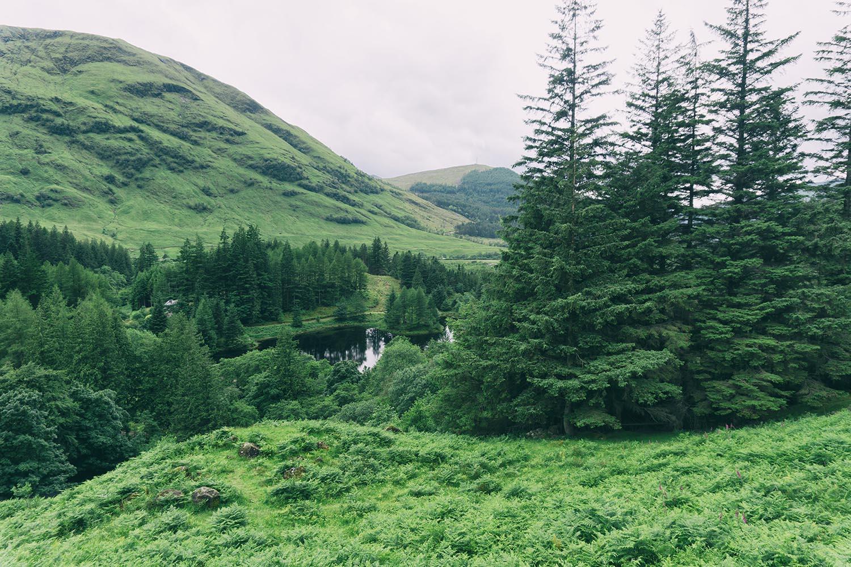 hagrid hut glencoe scotland