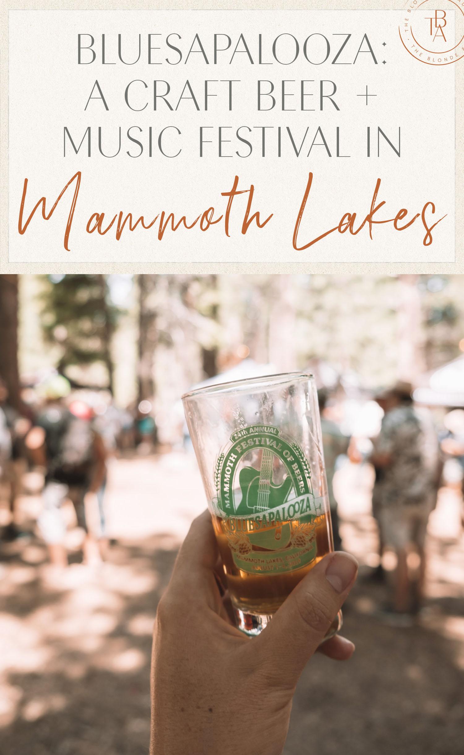 Bluesapalooza Craft Beer Music Festival Mammoth Lakes