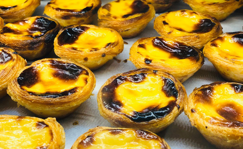 portuguese egg tart pastel de nata