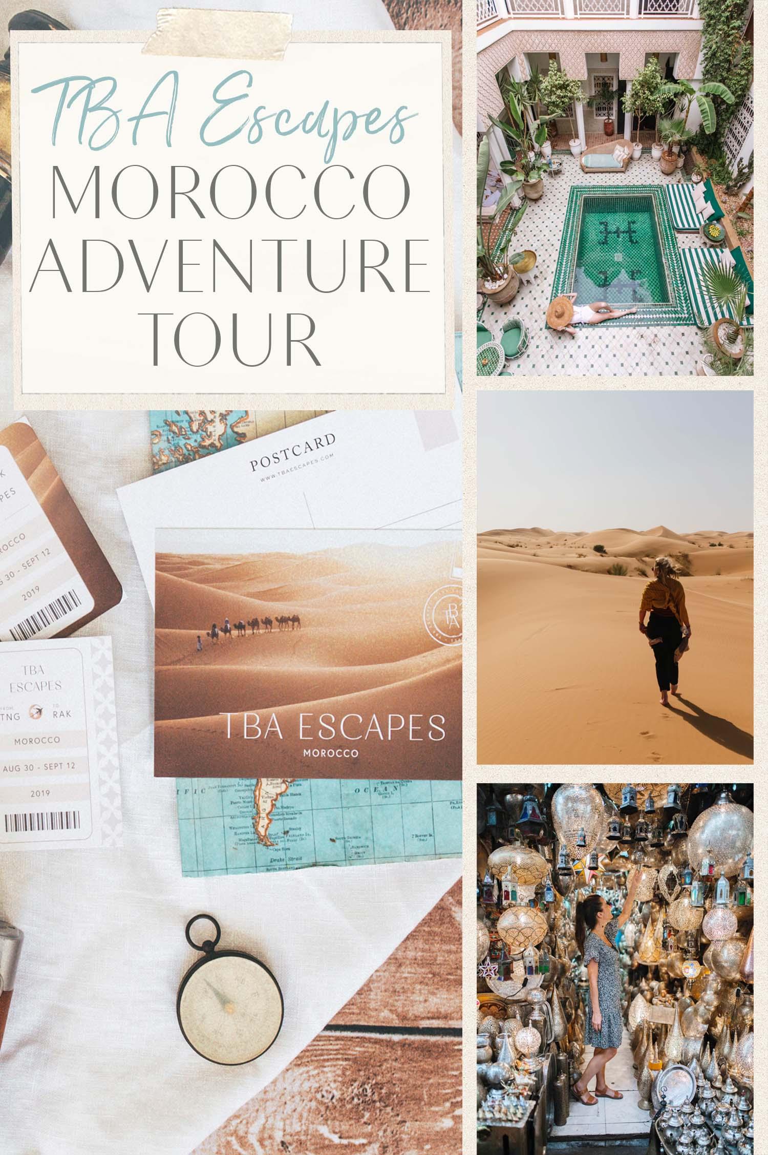 TBA Escapes Morocco Highlights Tour