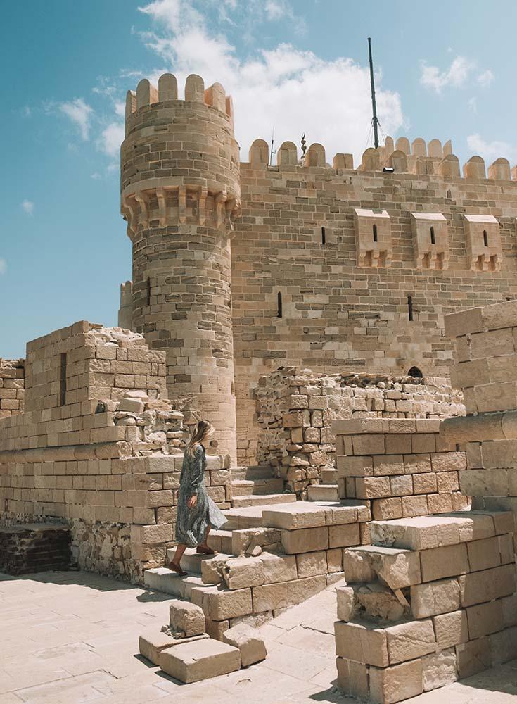 alexandria-castle ▷ Itinerario de 5 días en Egipto para El Cairo y las pirámides