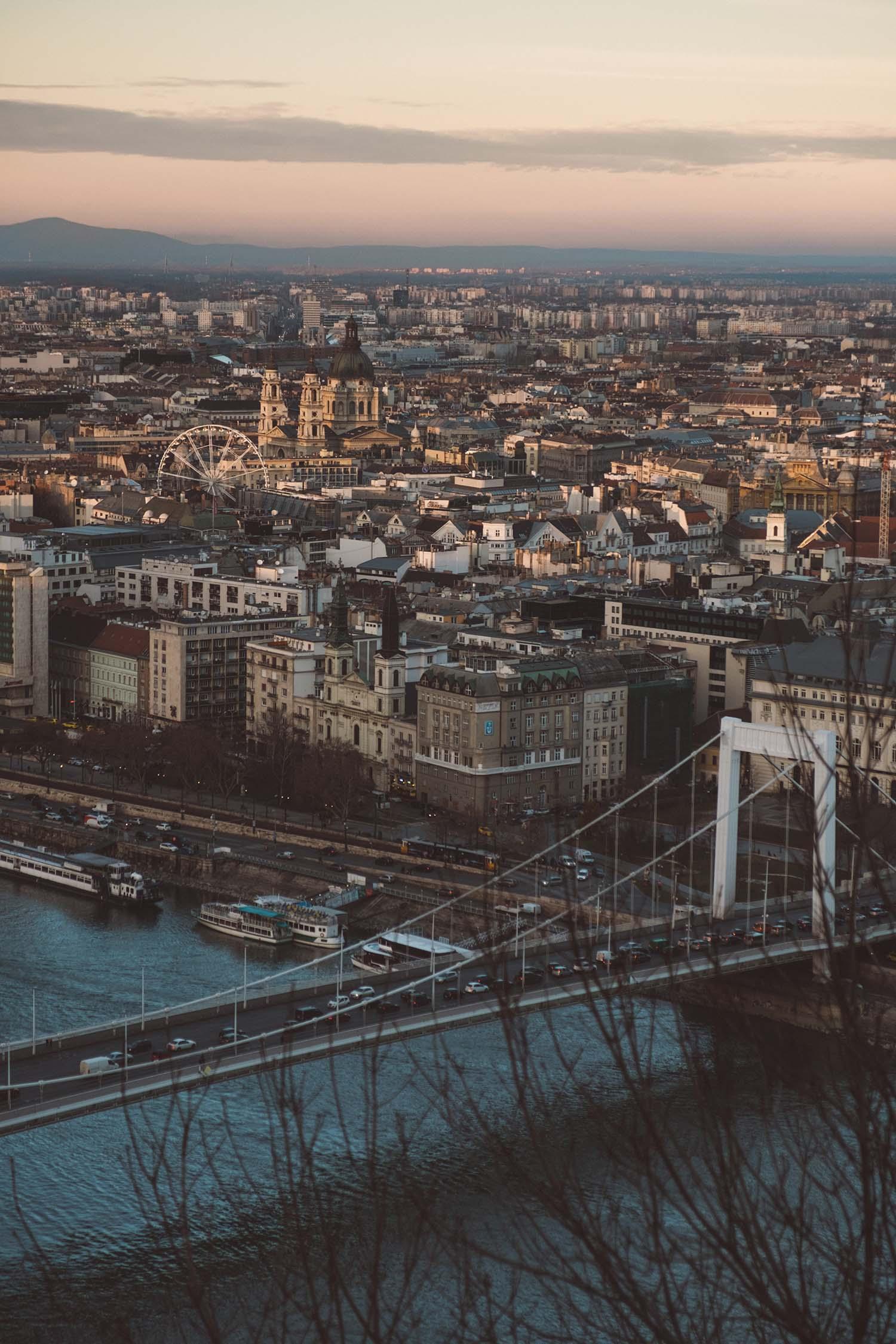buadpest cityscape