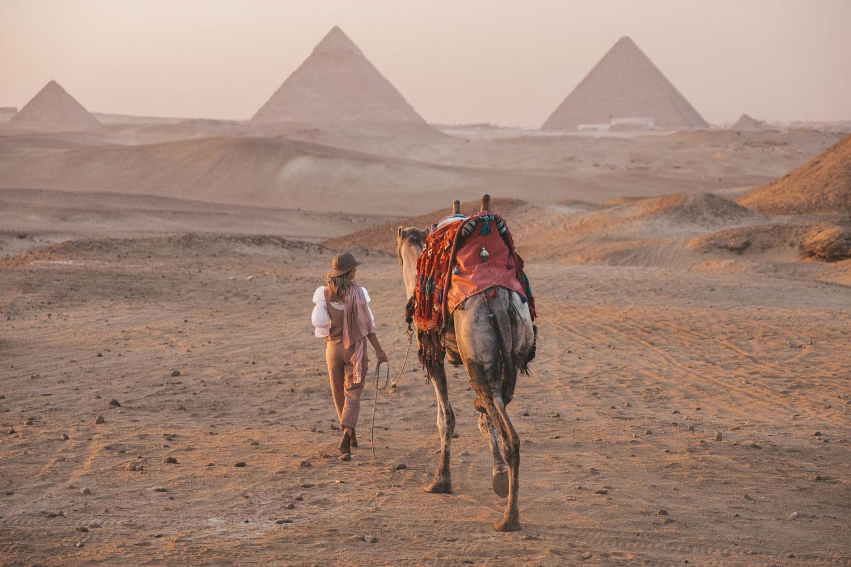 giza-complex-sunset ▷ Itinerario de 5 días en Egipto para El Cairo y las pirámides