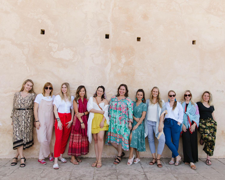 ladies morocco
