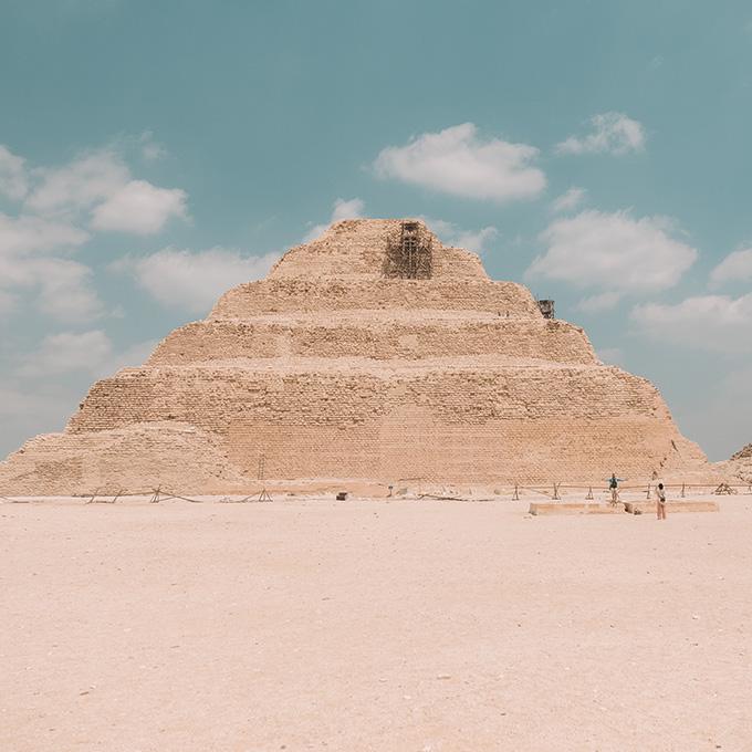 saqarra-pyramid-egypt ▷ Itinerario de 5 días en Egipto para El Cairo y las pirámides