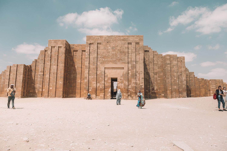 saqarra-pyramid-entrance ▷ Itinerario de 5 días en Egipto para El Cairo y las pirámides