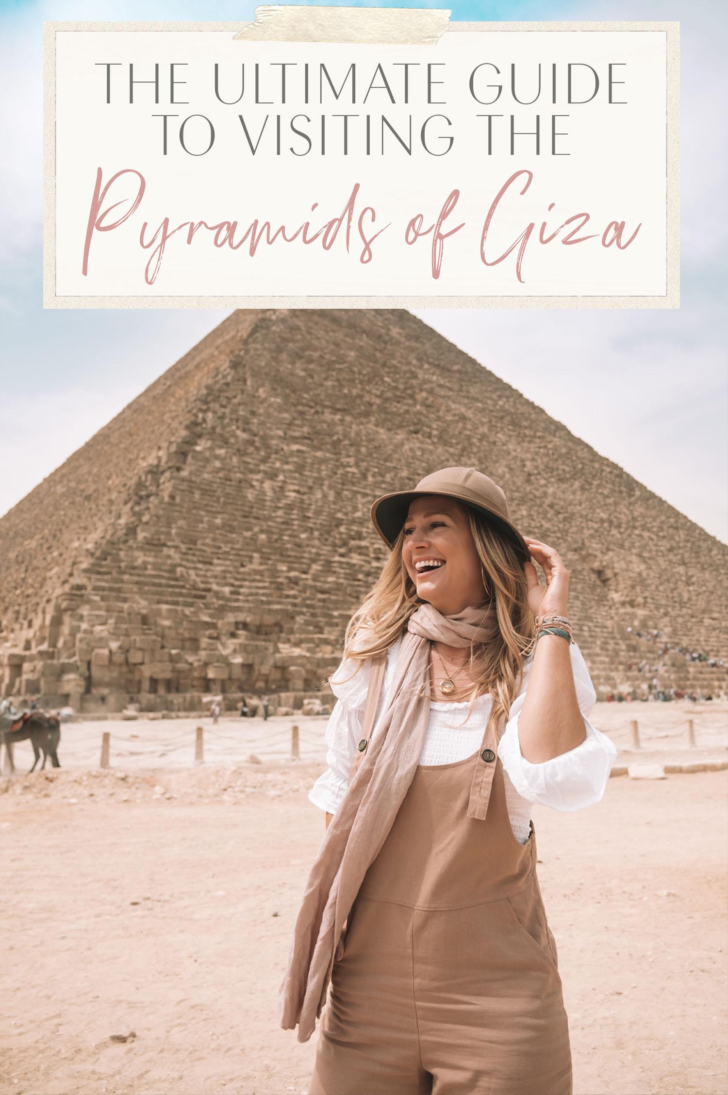 visiting pyramids of giza