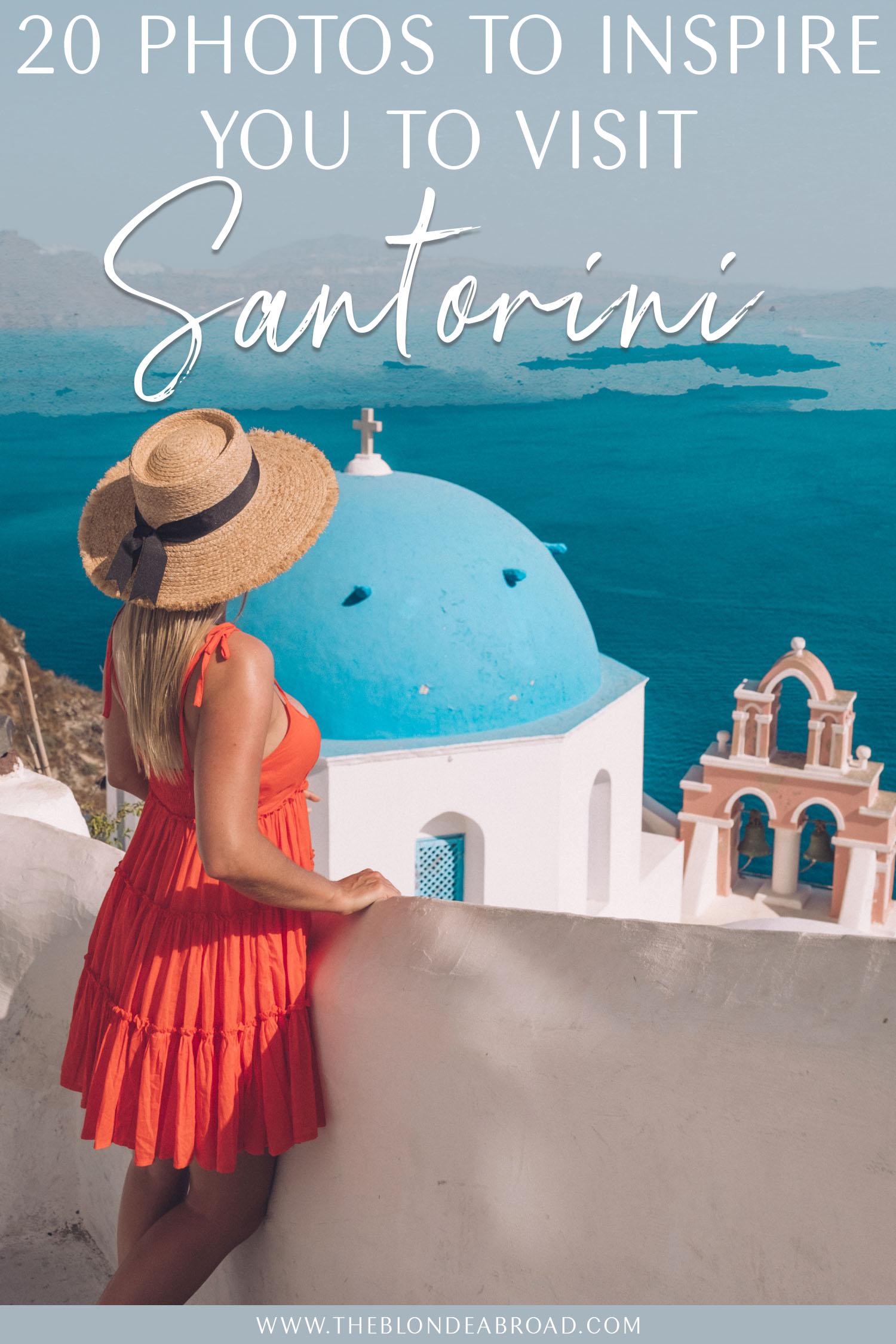 20 Photos Santorini