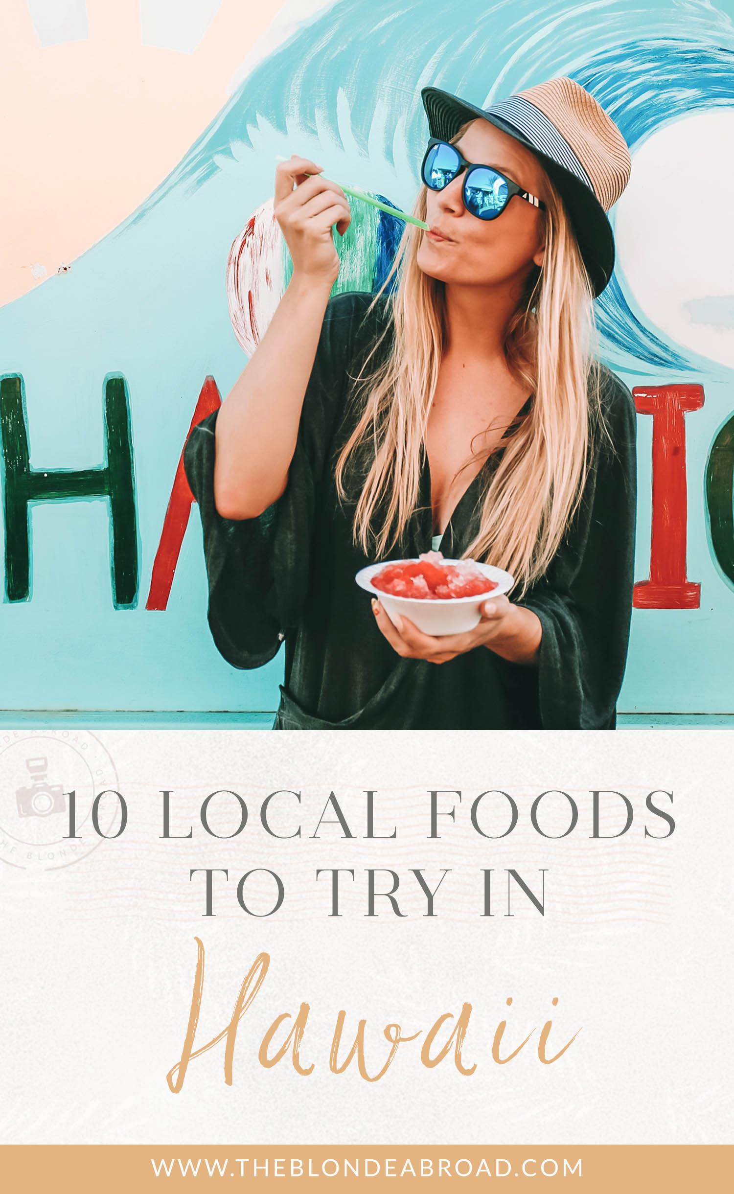 local foods hawaii