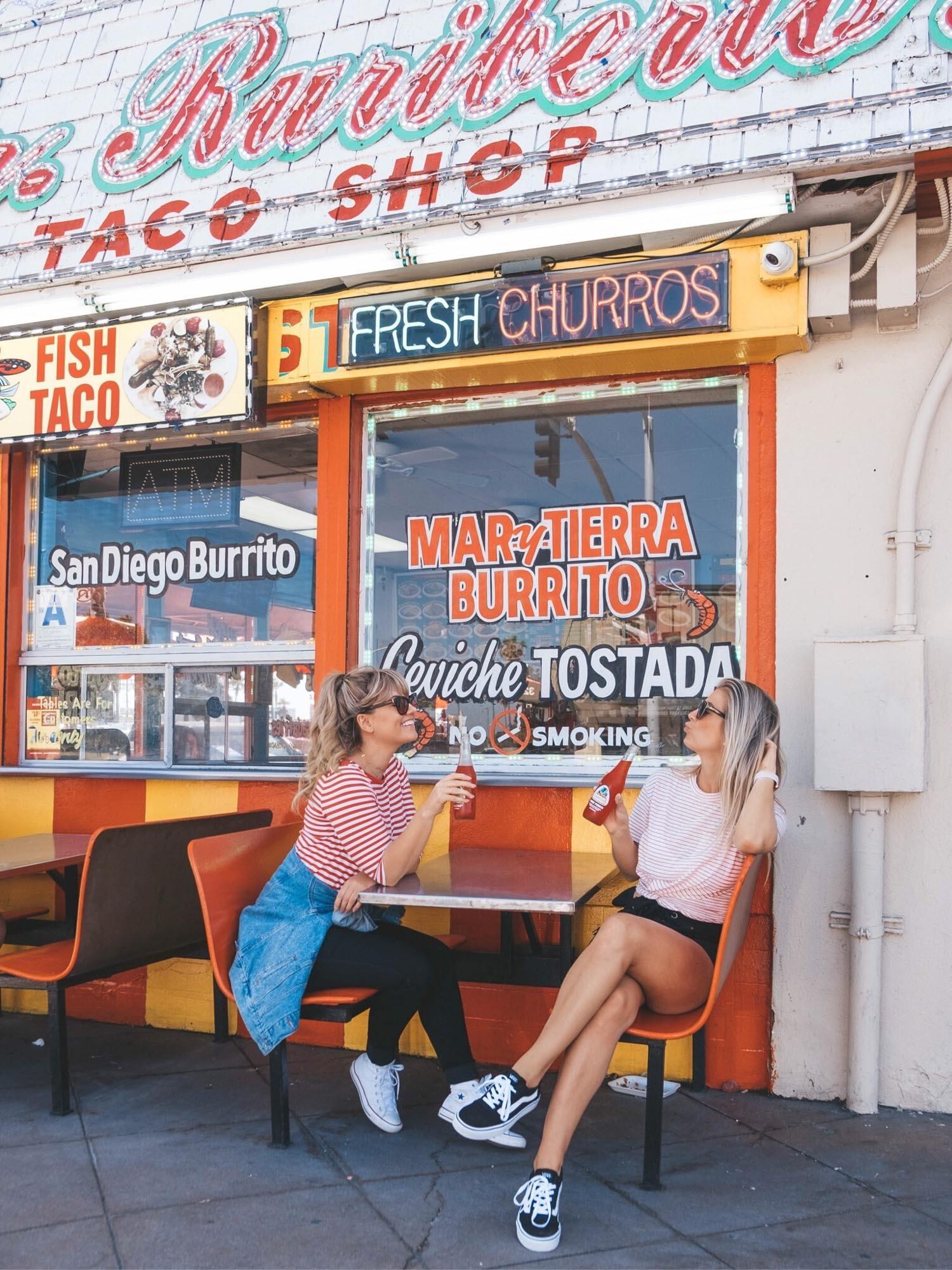 san diego taco shop california staycation