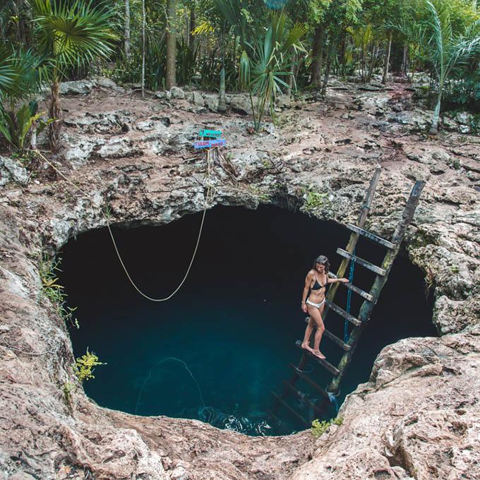 Cenote Calavera 1