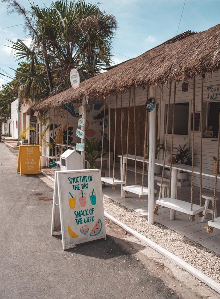 Matcha Mama Tulum town location