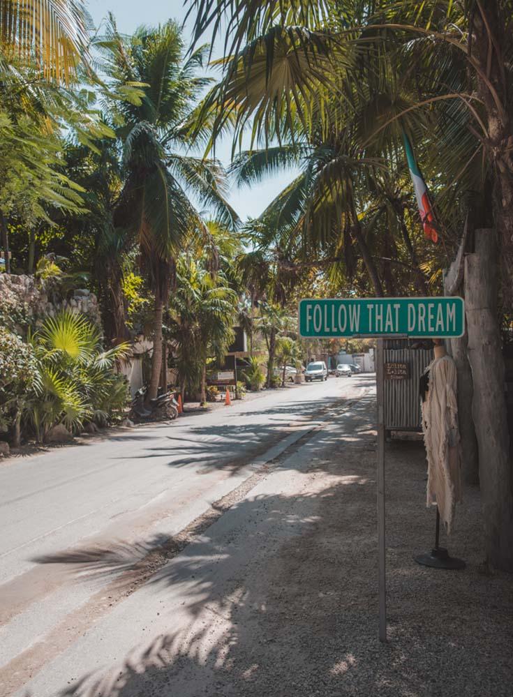 Tulum Beach Strip