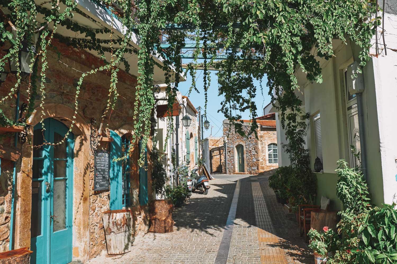 Crete Greece Street