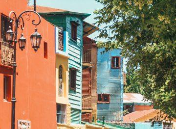 Argentina Budget La Boca Neighbourhood thumb
