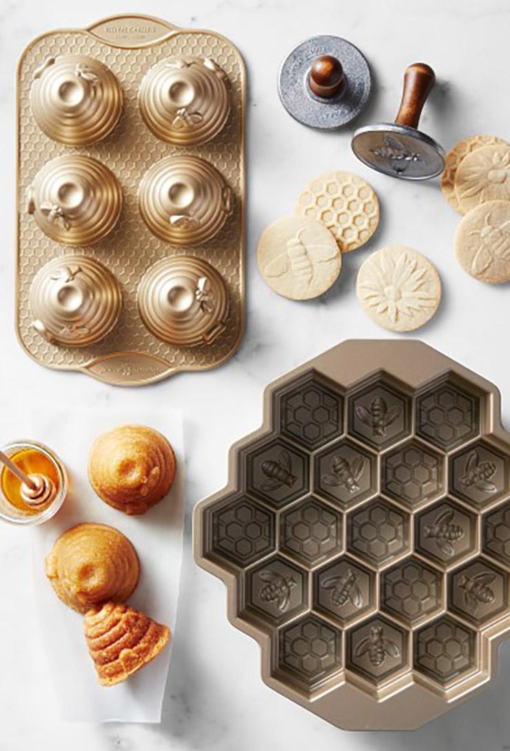 nordic ware honeycomb cake pan c