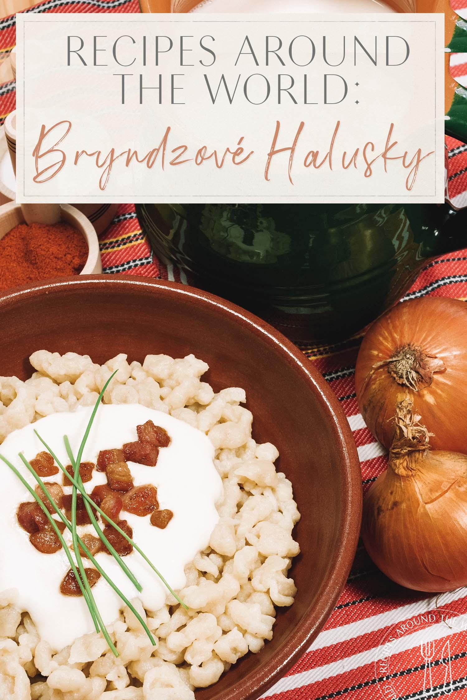 Bryndzove Halusky Header