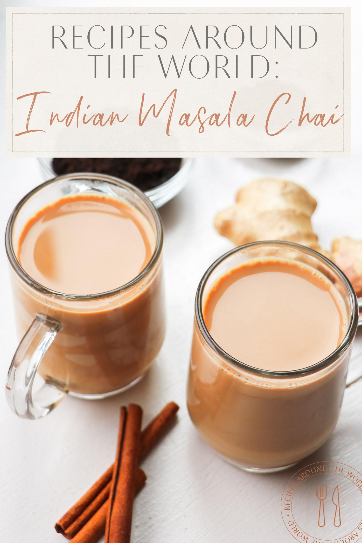 recette de masala chai indien