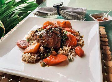 caribbean chicken stew recipe