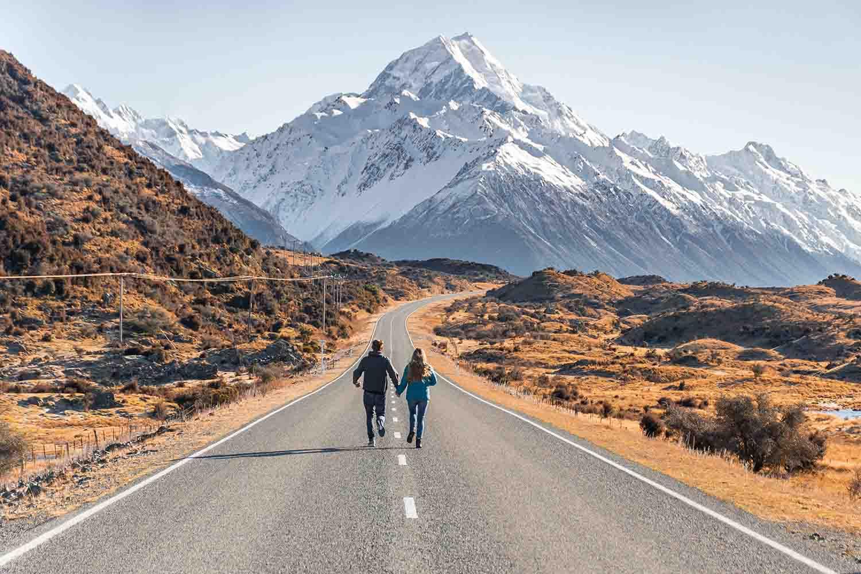 1Famous Mt Cook road photo