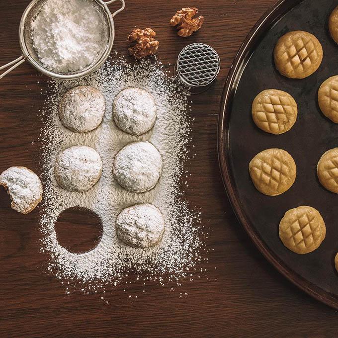 Biscoitos Kahk egípcios • A loira no exterior 8