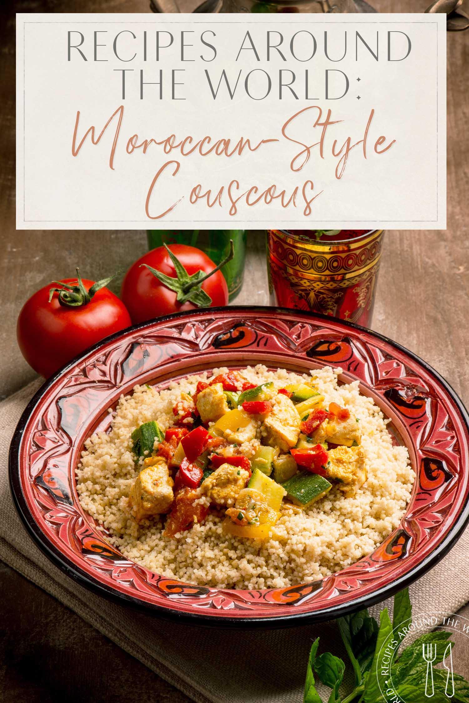 Couscous à la marocaine