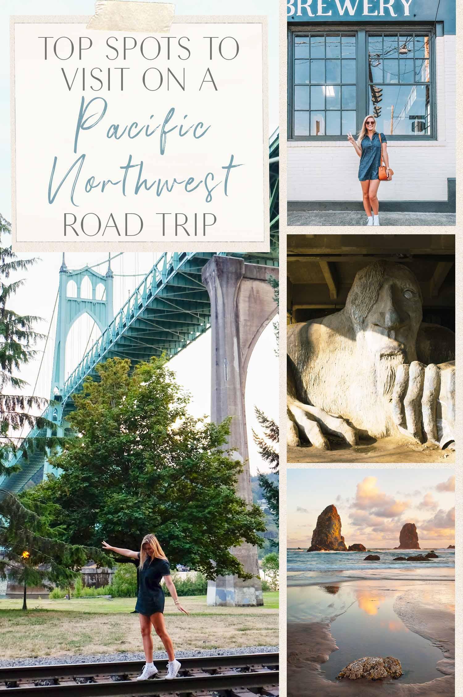 Tempat Terbaik untuk Dikunjungi di Pacific Road Road Trip