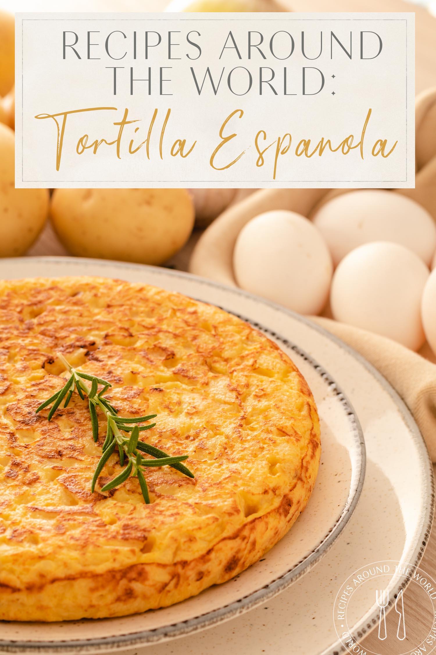 Receita Em Todo O Mundo Tortilla Espanola Omlette Espanhola