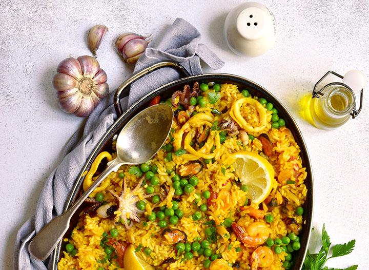 Recipes Around the World: Spanish Paella