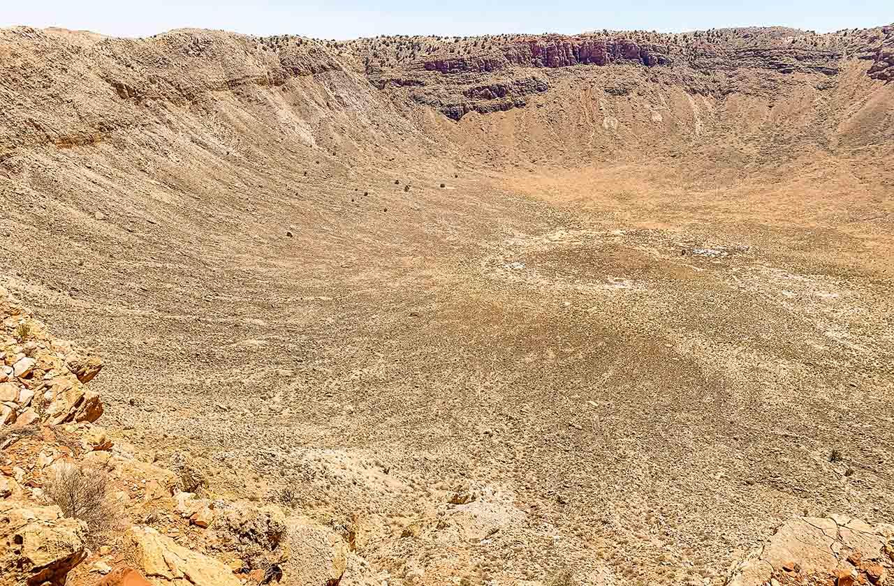 1Meteor Crater