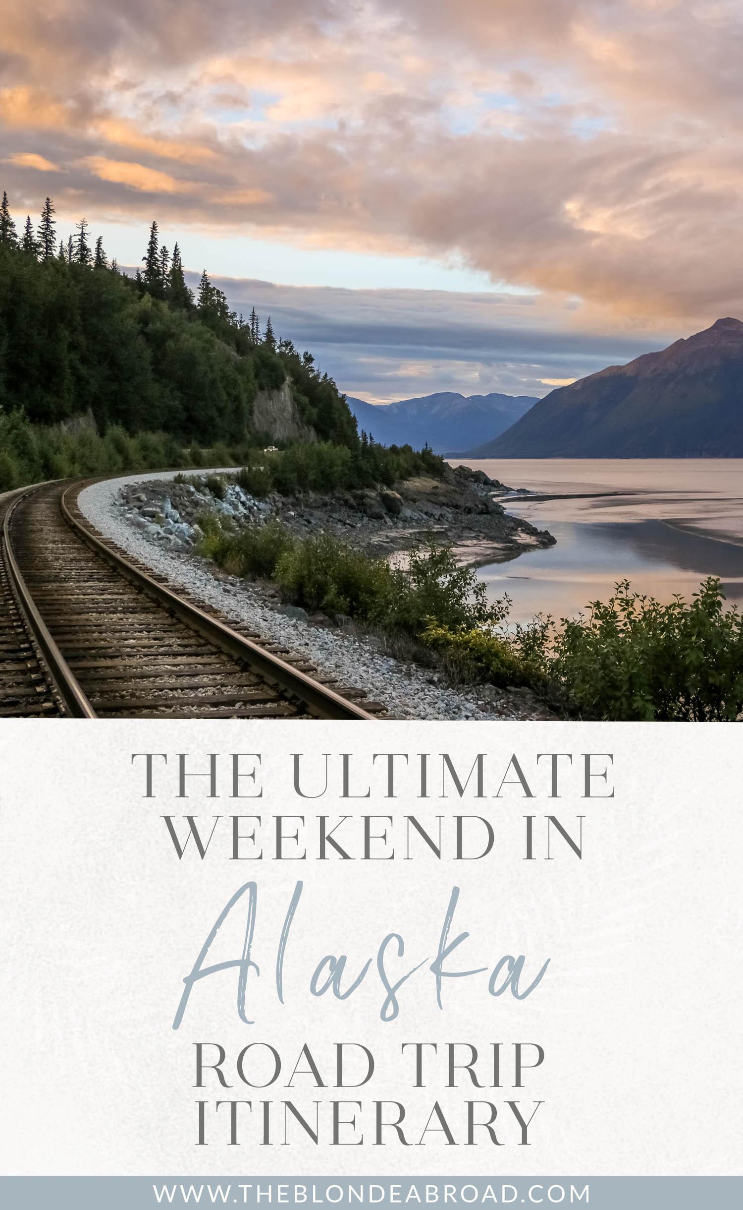 Le week-end ultime en Alaska Itinéraire routier