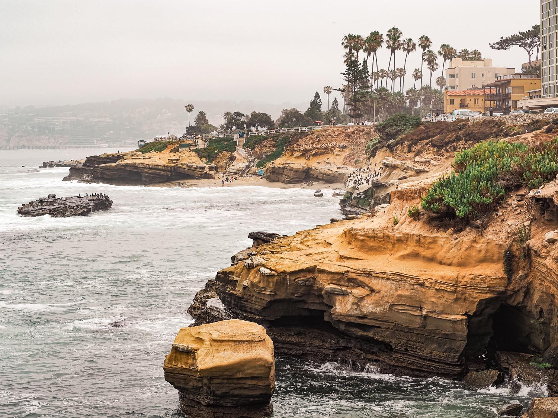 San Diego La Jolla Cave