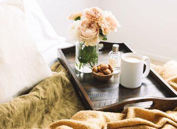 Vintage Bed Florals