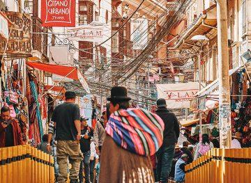 La Paz bolivia Street