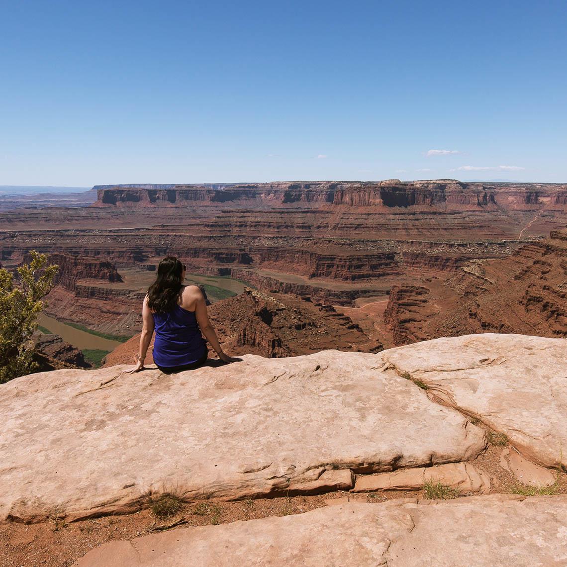 Canyonlands National Park Scenic Drive Overlook