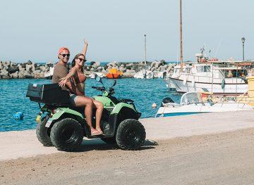 Santorini Self-Guided ATV Tour