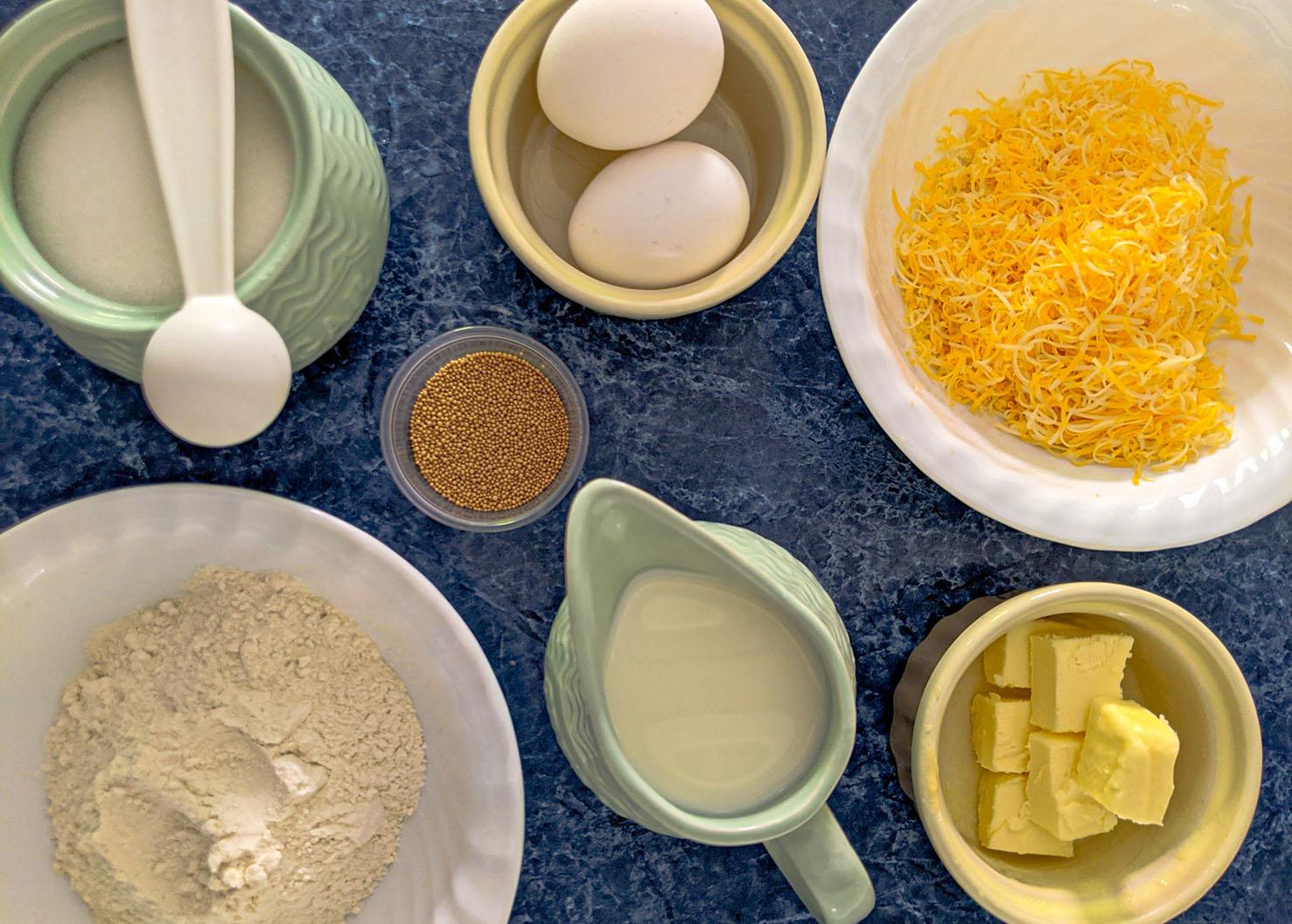 Ensaymada ingredients