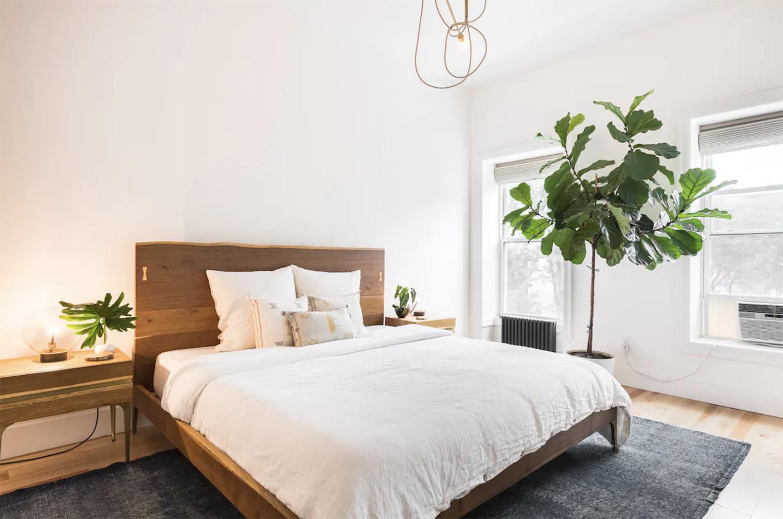 Modern Airy Brooklyn Brownstone Apartment Airbnb NYC