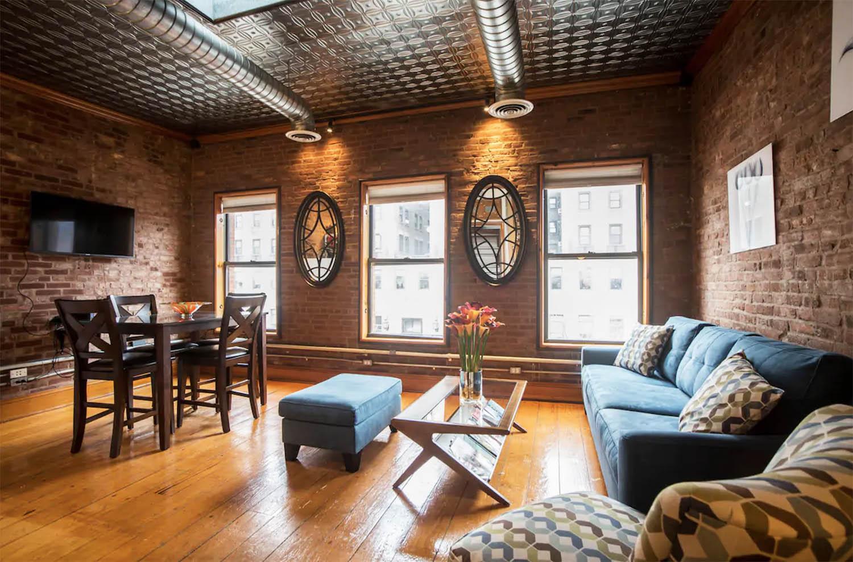 Modern Bright Brooklyn Brownstone Airbnb NYC New York City apartment