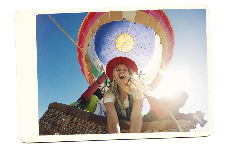 hot air balloon china