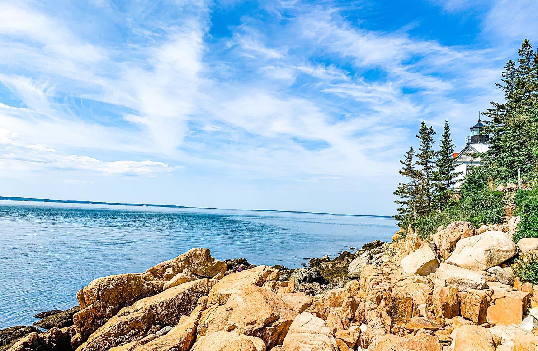 Bar Harbor Acadia NP Bass Harbor Lighthouse