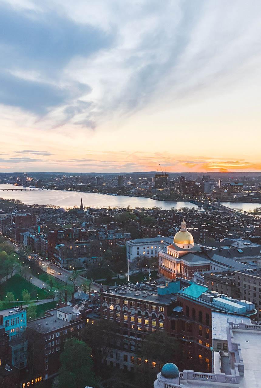 Boston at Sunset2
